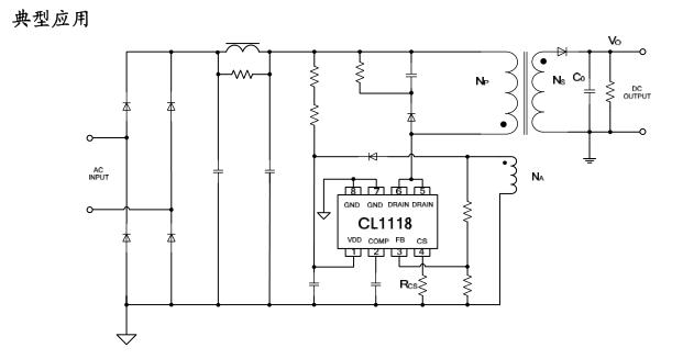 原边反馈拓扑结构可     简化外围电路设计,特别在电池充电器应用中.